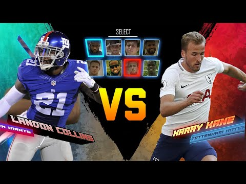 Landon Collins vs. Harry Kane | Giants vs. Tottenham| Game Recognize Game|  NFL vs. Premier League