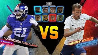 Landon collins vs. harry kane skills showdown | giants vs. hotspur | nfl vs. epl