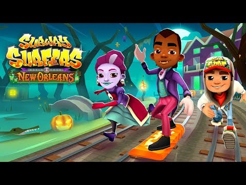 Subway Surfers World Tour 2018 - New Orleans - Halloween (Portuguese Trailer)