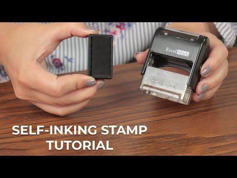 How To Re-Ink Self-Inking Stamps