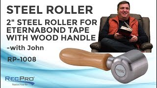 "RV Roofing 2"" Steel Roller"