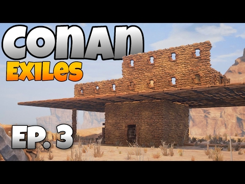 Conan Exiles - Ep. 3 - Epic Base Beginning and Blacksmith! - Let's Play Conan Exiles Multiplayer from YouTube · Duration:  21 minutes 47 seconds