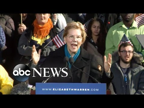 Sen. Elizabeth Warren officially announces 2020 presidential bid Mp3