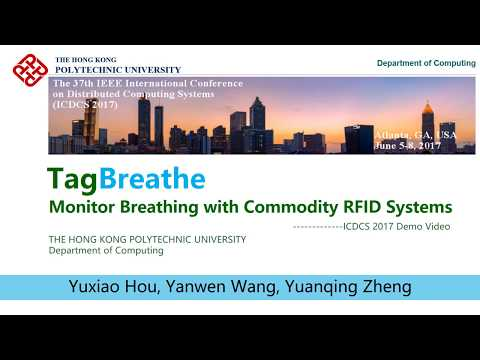 TagBreathe: Monitor Breathing with Commodity RFID Systems