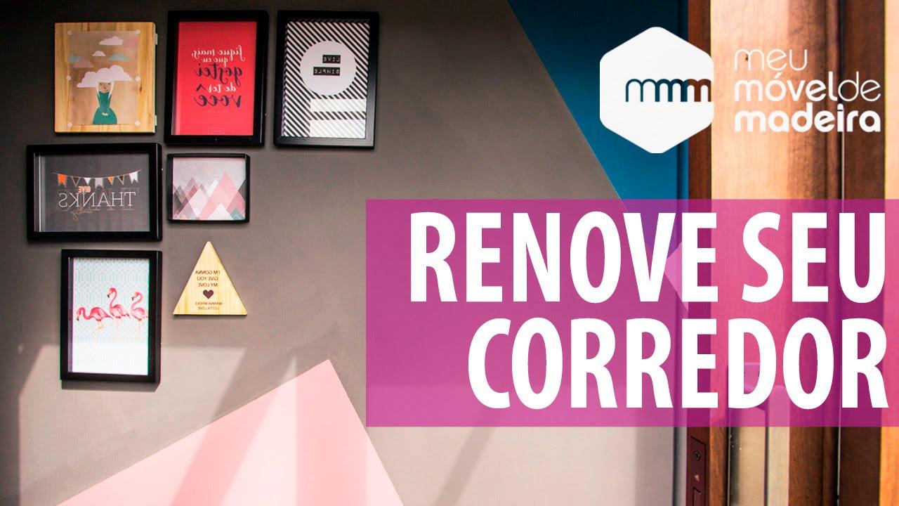 Renove seu corredor com pinturas geomtricas  YouTube