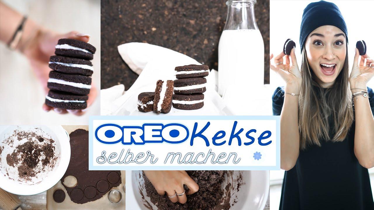 oreo kekse selber machen gesundes rezept ohne zucker. Black Bedroom Furniture Sets. Home Design Ideas