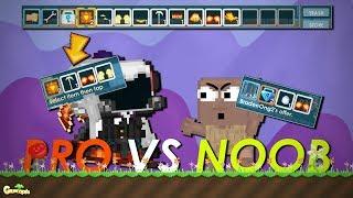 NOOB VS PRO !?!? SETELAH SHOW 1000 DLS LANGSUNG AUTO GG !! - Growtopia