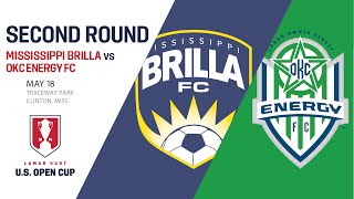 Live Video: 2016 Lamar Hunt U.S. Open Cup - Second Round: Mississippi Brilla FC vs. OKC Energy FC