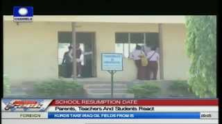 Parents, Teachers And Students Reacts To Resumption Date Change