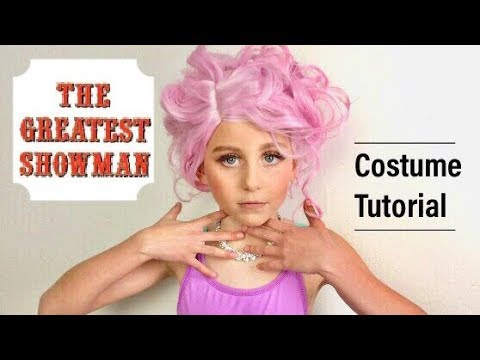 The Greatest Showman Costume Makeup Tutorial Zendaya Anne