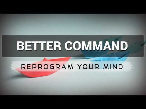Positive Affirmations for Better Command - Law of attraction - Hypnosis - Subliminal