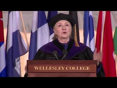 Clinton Uses Wellesley College Commencement To Tout Her Dark Money Super PAC
