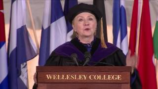 Clinton Uses Wellesley College Commencement To Tout Her Dark Money Super PAC thumbnail