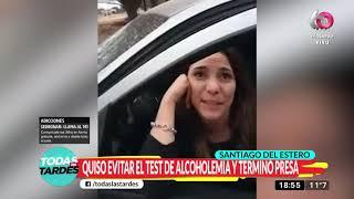 Santiago del Estero: Quiso evitar un test de alcoholemia y terminó detenida YouTube Videos