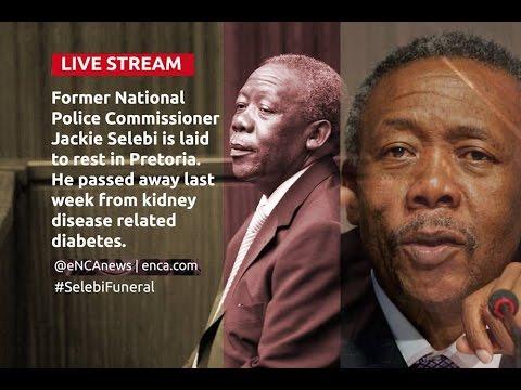 LIVE: Funeral of former National Police Commissioner Jackie Selebi