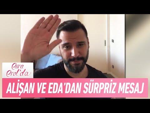Download Youtube: Alişan ve Eda'dan sürpriz mesaj - Esra Erol'da 23 Haziran 2017