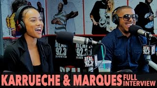 karrueche marques houston on new movie a weekend with the family full interview bigboytv