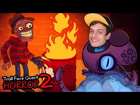 ХЭЛЛОУИНСКИЙ Troll Face Quest Horror 2 !!!