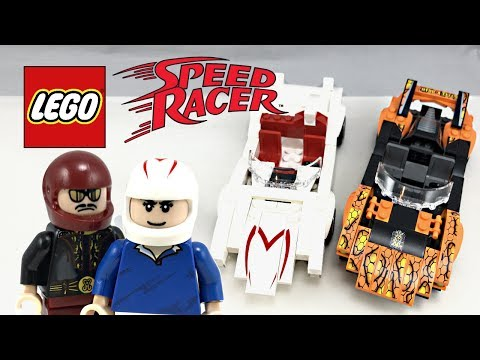 LEGO Speed Racer & Snake Oiler review and unboxing! 2008 set 8158!