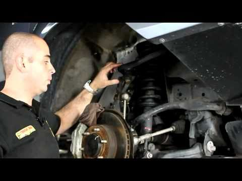 How to install 2005+ Toyota Hilux suspension installation - Tough