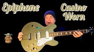Epiphone Original Casino Worn Olive Drab