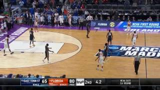 Florida vs ETSU March Madness Highlights