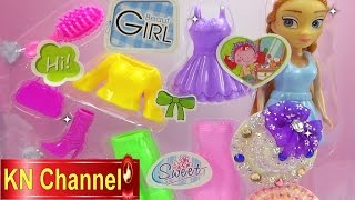 Đồ chơi trẻ em Bé Na & búp bê mặc Quần áo bằng nhựa Plastic doll clothes Childrens toys
