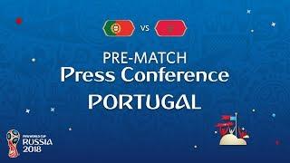 FIFA World Cup™ 2018: Portugal - Morocco: Portugal - Pre-Match Press Conference