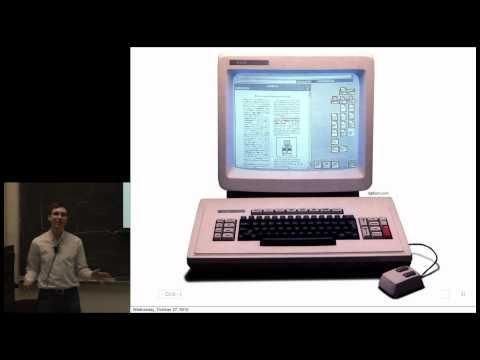 UC Berkeley CS10 FA10 Lecture 16, Human-Computer Interaction (HCI) with Björn Hartmann (1080p HD)