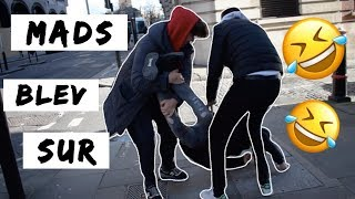 Slåskamp Midt I London! - Vi Driller MadsenGaming hele dagen | London med Mads og Johan #2