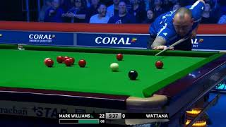 Mark Williams Vs James Wattana •R2• |Coral shoot out 2018|