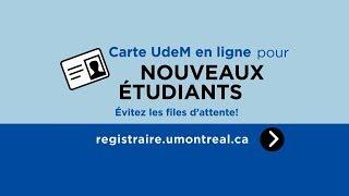 Demander sa carte étudiante en ligne
