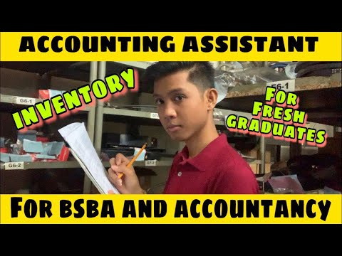 ACCOUNTING ASSISTANT/CLERK : INVENTORY JOB PLUS TIPS FOR ACCOUNTANCY AND BSBA FRESH GRADUATES