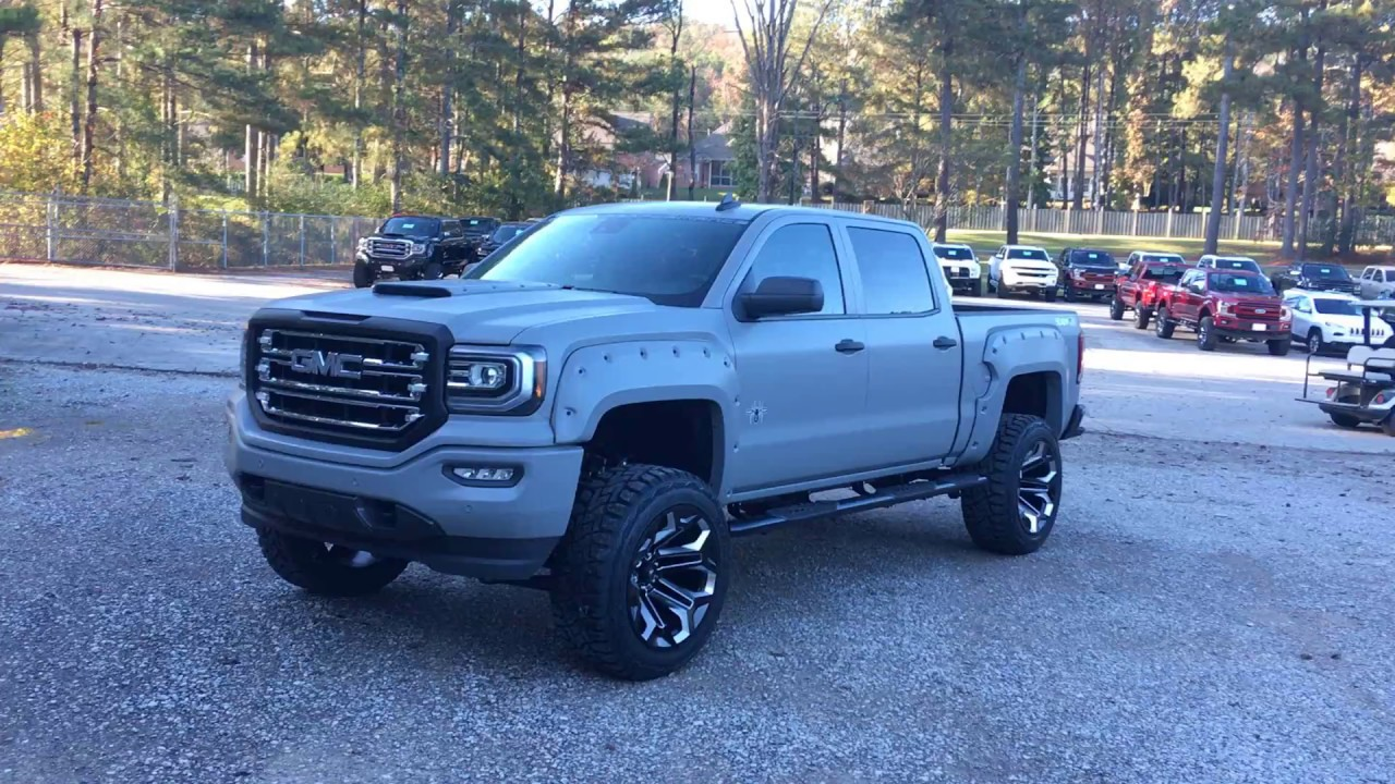 2018 Sca Gmc 1500 Military Edition First One Youtube