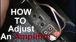 How to Tune a Car 2channel Amplifier ALMANI SUBWOOFER| ROCK MARS AMPLIFIER