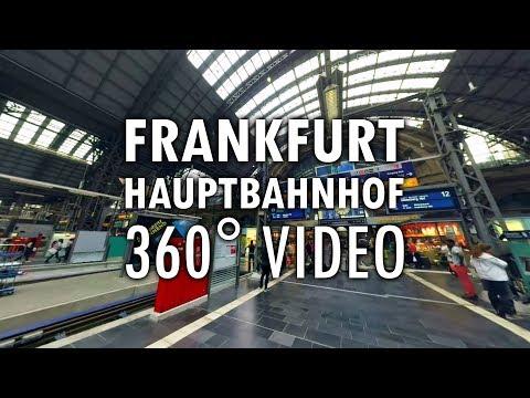 Hauptbahnhof Frankfurt | 360°-Video | Virtual Reality | Filmproduktion | Videoproduktion
