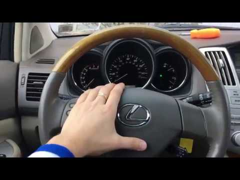 How to remove replace Lexus RX cluster dash board