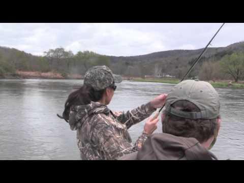 Flyfishing Delaware River, Spring Hendricksons