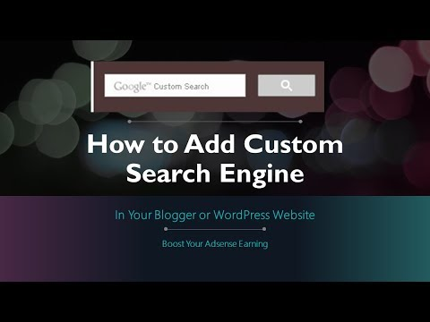 How To Add Google Custom Search Engine On Your Blog Or Website | #Rstech