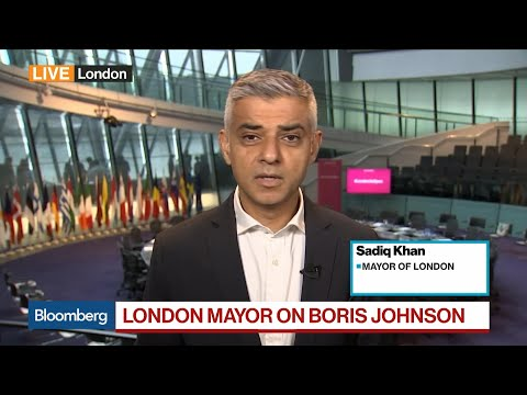 London Mayor Khan on Brexit, Boris Johnson, Donald Trump
