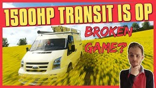 Forza Horizon 4 | 1500HP Ford Transit Is OP In S2 Class (How?)