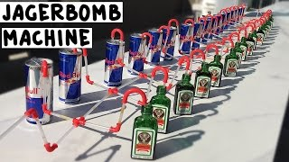 The Ultimate Jagerbomb Machine - Tipsy Bartender