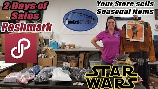 Following the Stores Walmart, Target - Poshmark 2 days of Sales - Star wars Costumes - Reselling
