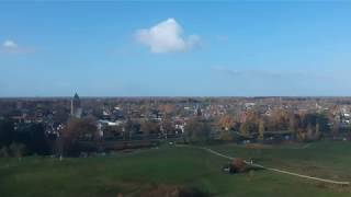 Drone footage of Dalfsen during fall 2017 (November).