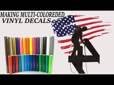 MAKE YOUR OWN MULTI-COLORED DECALS