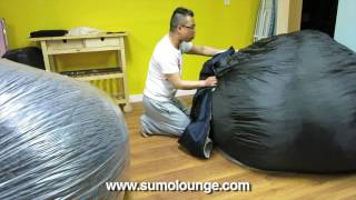 Unwrapping My New Sumo Lounge Sultan
