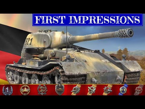 FIRST IMPRESSIONS OF THE VK72.01K | New Tier 10 Heavy Tank