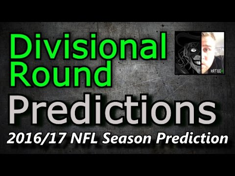 Divisional Round - 2016/17 NFL Predictions