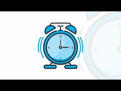 daily-design---alarm-clock-flat-icon-illustration
