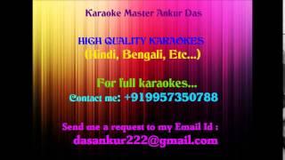 Chalka chalka re Karaoke-Saathiya By Ankur Das 09957350788
